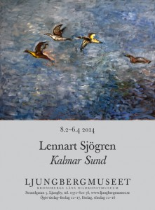 Lennart Sjögren vernissagekort-original-1