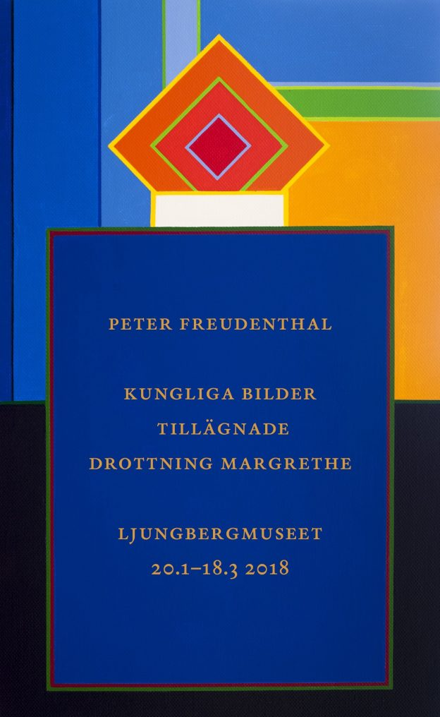Peter Freudenthals vernissagekortoriginal